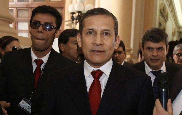 """Ollanta Humala critica que """"se haya normalizado"""" la violencia contra las mujeres"""