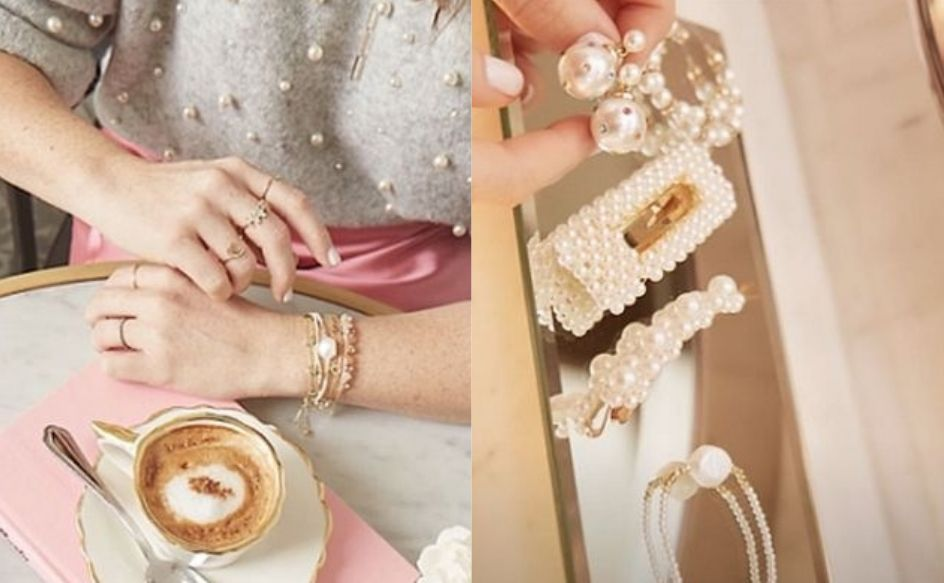 Pulseras y anillos delgaditos marcan la tendencia a la que se suman perlas y brillos. (Foto: Instagram Sophie Crown / @kikesanchez_photography)