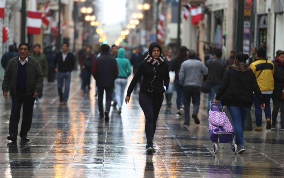 Lima podría registrar temperatura por debajo de los 14°C en invierno, informa Senamhi