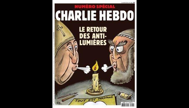 """""""Charlie Hebdo"""" critica oscurantismo religioso en aniversario de su atentado"""