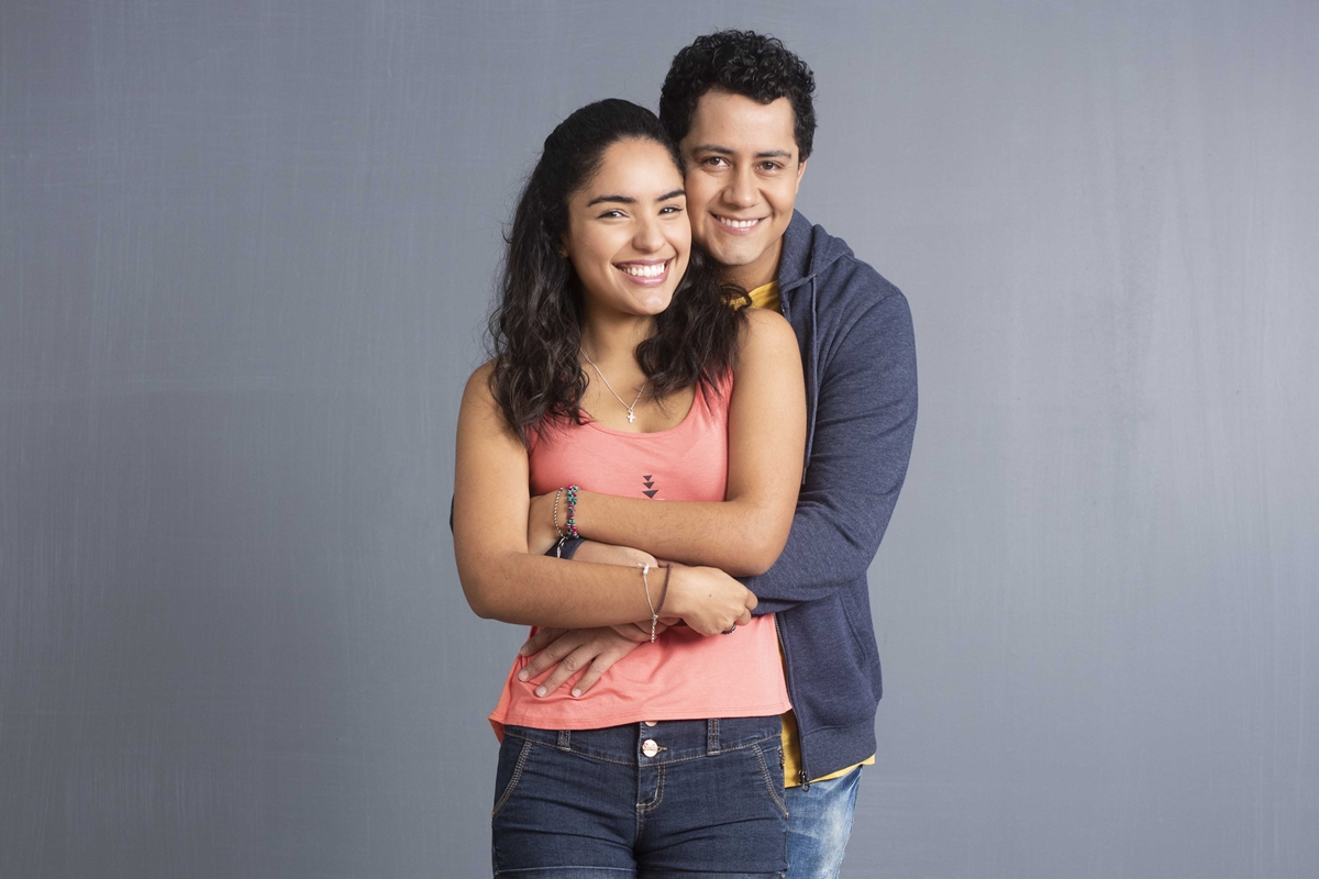 Daniela Feijoó (Paloma) y Gustavo Borjas (Valentín). (Foto: Difusión)