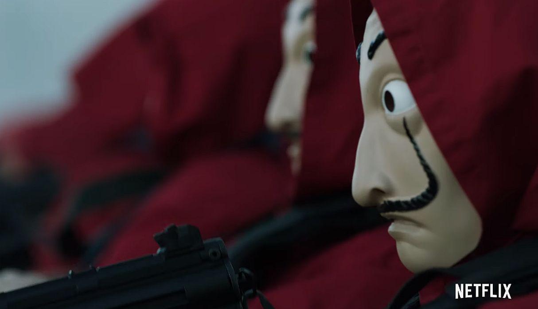 'La casa de papel': ¿Qué significa la máscara de Dalí para los protagonistas de la serie? | FOTOS