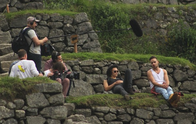 Los One Direction hicieron turismo en Machu Picchu