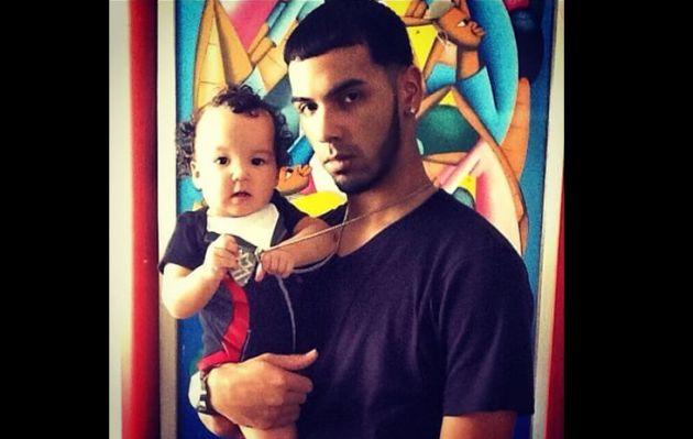 Instagram: fuertes críticas a Anuel AA por poner dientes de oro a su hijo