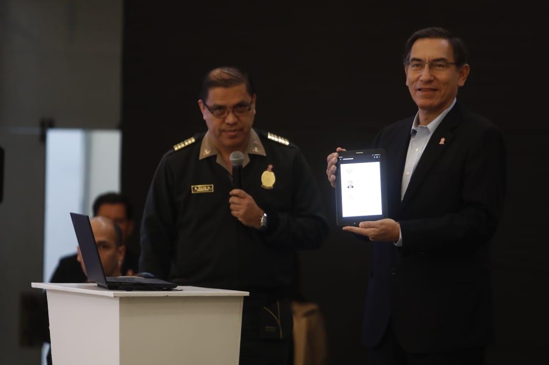 PNP: lanzan servicio de certificado de antecedentes policiales digital | FOTOS