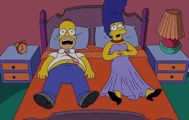 The Simpsons: Marge y Homero se separan