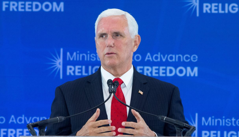 Pence denuncia ataques de Maduro y Ortega contra líderes de la Iglesia católica