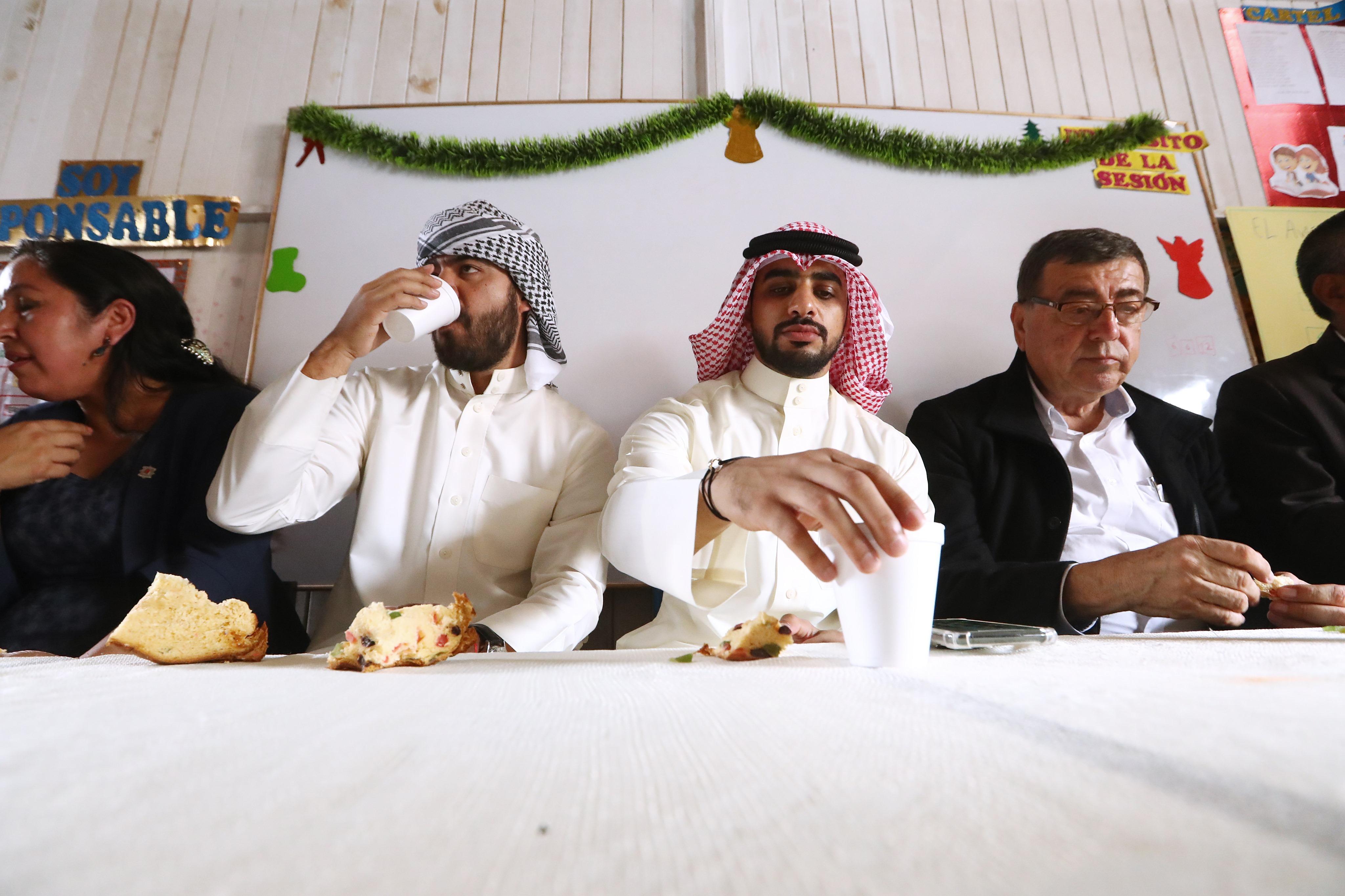 Un árabe en el arenal de Ventanilla