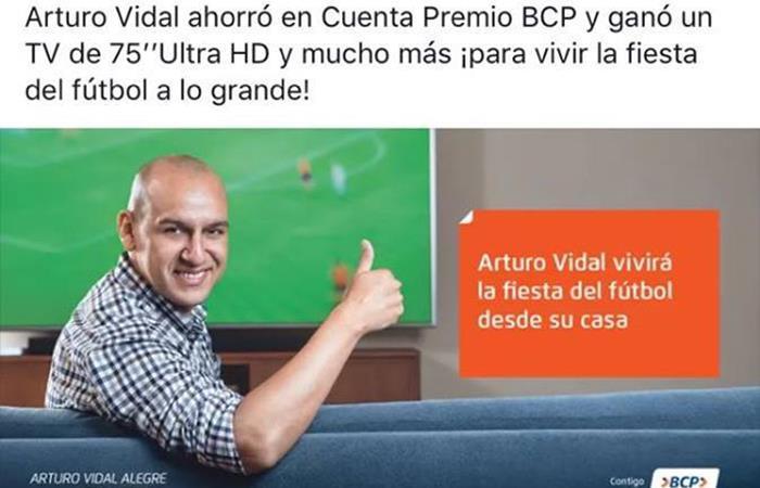 Promoción BCP con Arturo Vidal