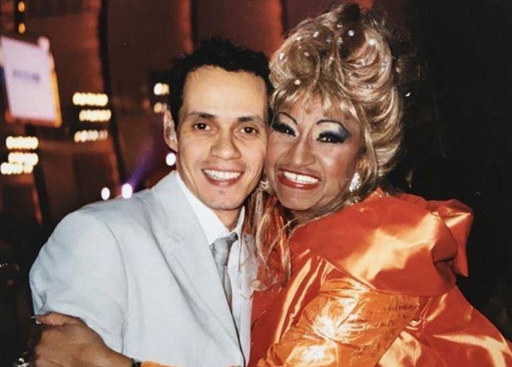 "Marc Anthony dedica emotivo mensaje a Celia Cruz: ""Tu legado vive hoy y siempre"""