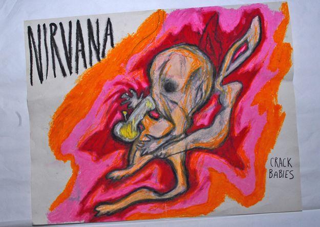 ¿Expresionismo Grunge?: 5 cuadros de Kurt Cobain nunca antes vistos