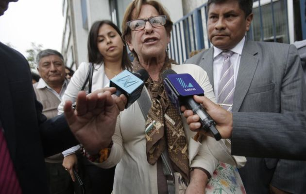 Poder Judicial evaluará pedido de prisión preventiva contra Susana Villarán