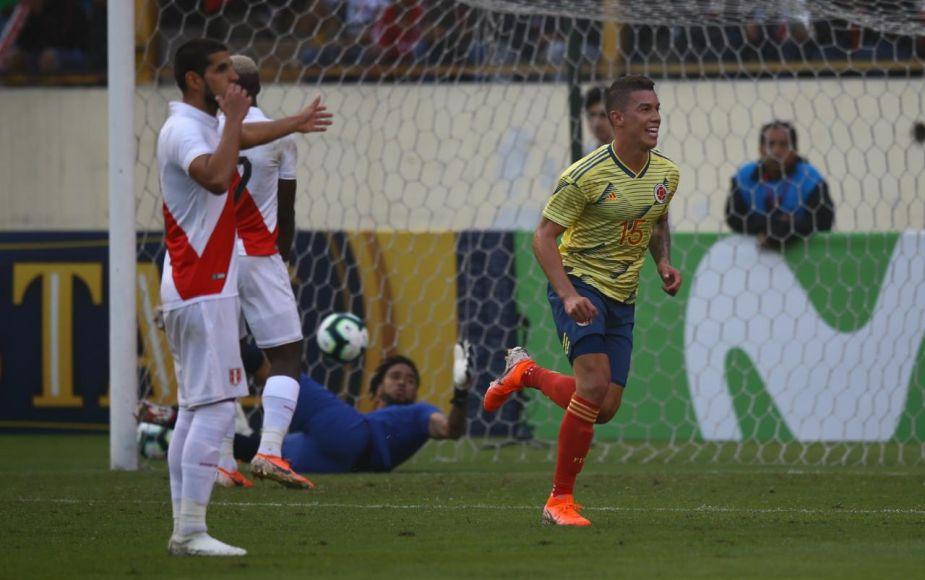 Perú cayó 3-0 ante Colombia en el Monumental en amistoso previo a la Copa América