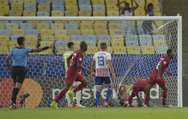 Qatar empató 2-2 a Paraguay en un partidazo por el Grupo B de Copa América 2019