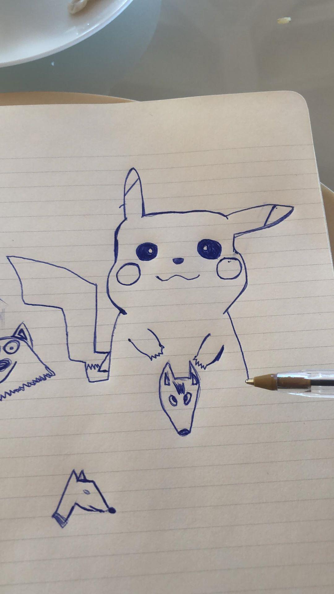 Estos son los dibujos de J Balvin. (Foto: @jbalvin)