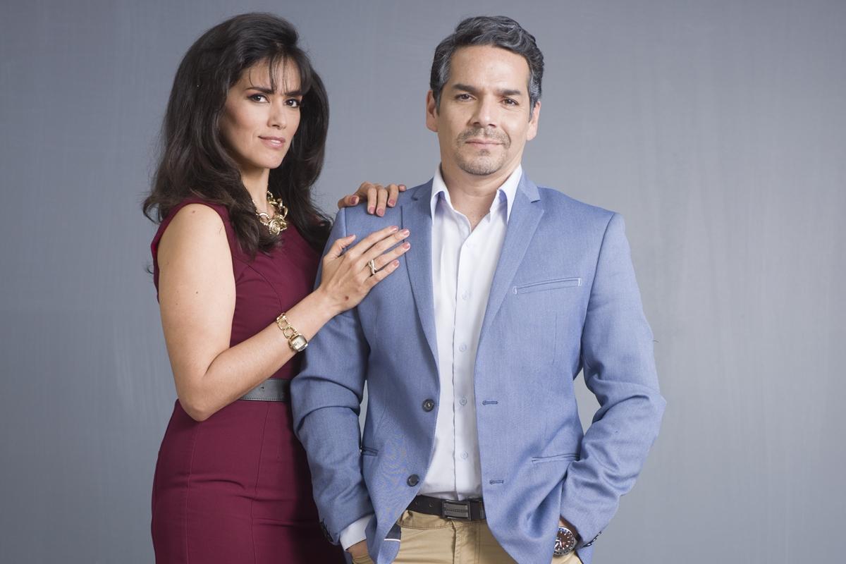 Fiorella Díaz (Javiera) y Miguel Álvarez (Salomón). (Foto: Difusión)