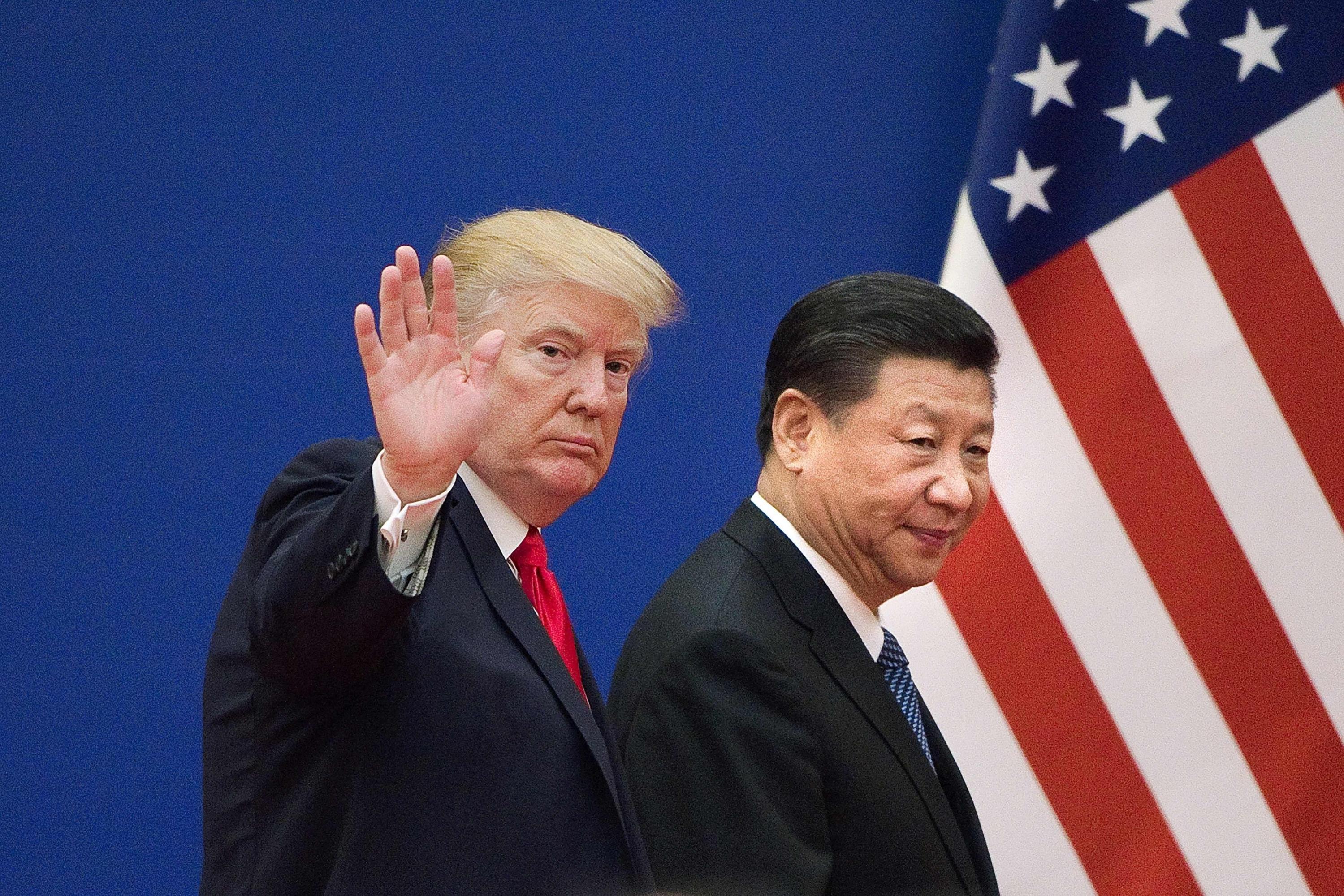 En la imagen, los presidentes Donald Trump y Xi Jinping. (Foto: AFP)
