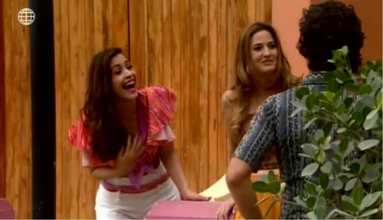 De vuelta al barrio: ¡Ninfa ve en Flor a una rival y despliega todo su arsenal seductor! [VIDEO y FOTOS]