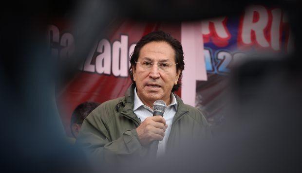 Benítez: detención de Alejandro Toledo no significa que se haya aprobado extradición