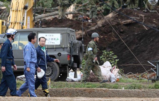 Japón: primer ministro visita Hokkaido tras fuerte sismo que dejó al menos 37 muertos